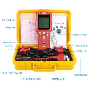 Image 5 - Strumento diagnostico Originale XTOOL X100 Pro Programmatore Chiave Auto Con EEPROM SIM Card e Adattatori supporto Contachilometri Chilometraggio regolazione Aggiornamento Gratuito