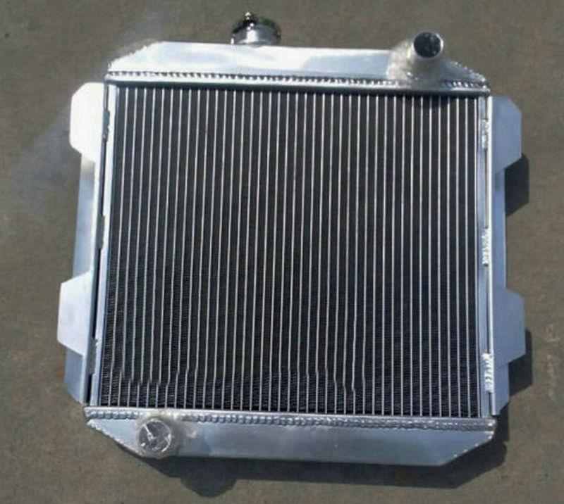 Aluminum Radiator For FORD CAPRI II MK1 2600 2800 V6 LHD US SPEC M T 1971