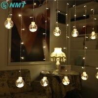 3M LED String Light Warm White 120LEDs Wishing Ball String Lights Christmas Garden Wedding Party Decoration