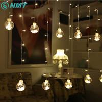 3M LED String Light Warm White 120LEDs Wishing Ball String Lights Christmas Garden Wedding Party Decoration Fairy Curtain Light