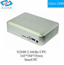 Fanless Small Size Linux Pocket Mini pc (Lbox-2840)