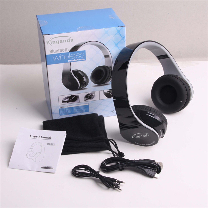 Factory Price Binmer Hot  Wireless Bluetooth V4.1 Headset Stereo Bluetooth Headphones for Cell Phones Tablet Drop Shipping factory price binmer 3 5mm in ear earphone headset for tablet mp3 data cable drop shipping hot selling good quality