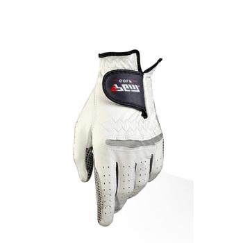 Męskie skórzane rękawiczki golfowe lewego prawego ręka miękka oddychająca stuprocentowa skóra owcza rękawice golfowe akcesoria do golfa tanie i dobre opinie Golf gloves