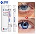 Cuidado de los ojos Crema para Las Ojeras Anti Hinchazón Crema de Ácido Hialurónico Suero Anti-envejecimiento Ojos Gel Reparación Noche Cremas Anti Arrugas