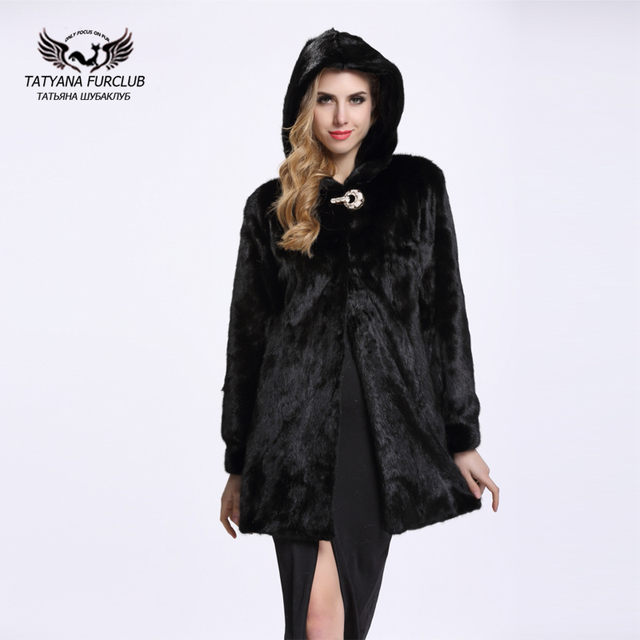 2aa8f2acc Hot Selling Women Fur Coats Genuine Leather Long Styles Whole Skin Mink Fur  Coat Fashion Slim Winter Coats Natural Fur BF-C0091