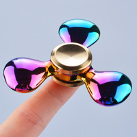 Rotation Time Long Tri Spinner Fidget Funny Toys Metal EDC Fidget Spinner Hand Spinner For Kids