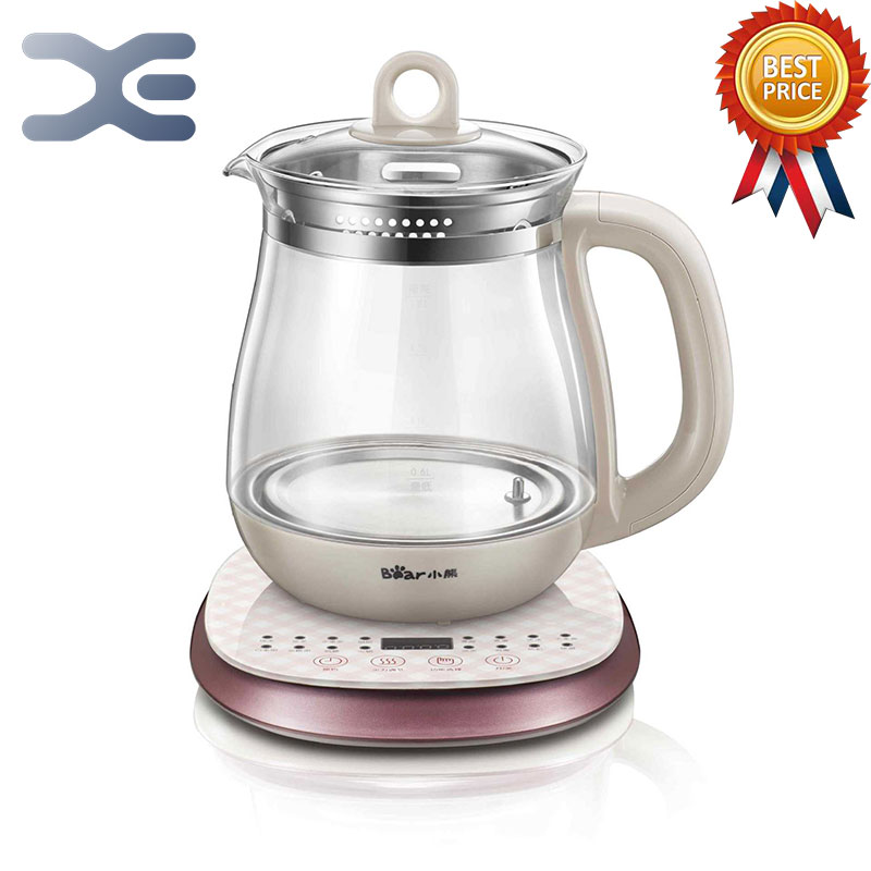 High Quality Kettle 1.8L Glass Electric Cooking Pot Multifunction Kettle Electric Appointment Timing