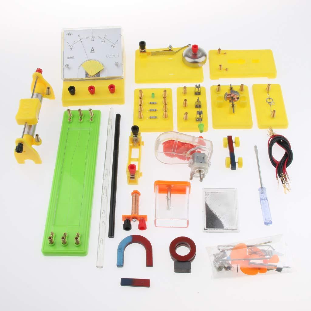 Kit de tige de Circuit électrique matériel de laboratoire d'expérimentation de physique équipement éducatif d'apprentissage de Science d'électro-tisme - 6