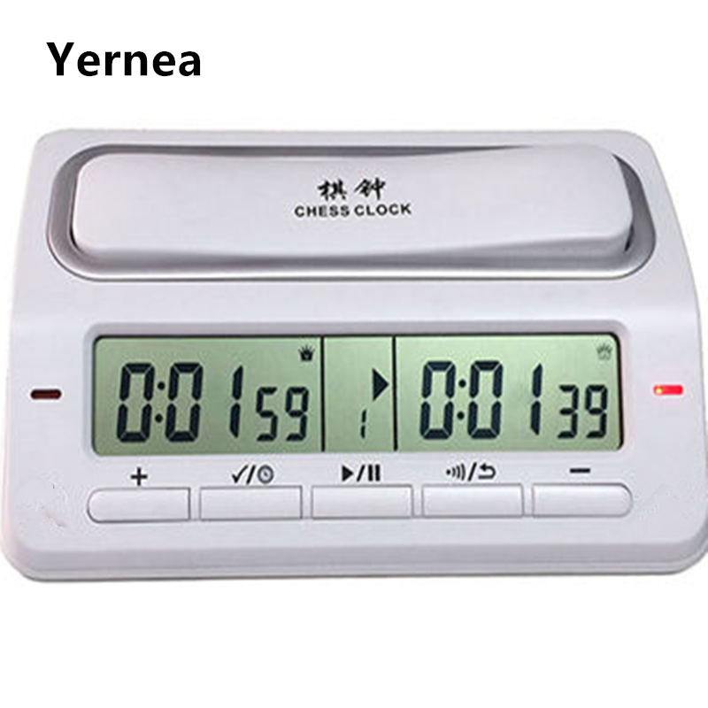 Electronic Digital Chess Clock Game Timer Master Tournament 39 Timing Modes For Chess I-GO Chinese Chess Game Set Timer Yernea leap pq9903a digital chess clock with lcd display