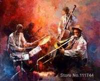 Christmas Gift Jazzband II by Willem Haenraets oil painting reproduction High quality Handmade