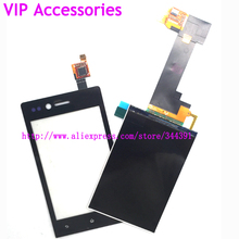 Original Tested ST23 LCD Touch Panel For Sony Ericsson Xperia Miro ST23 ST23i LCD Display Touch Screen Digitizer Tracking