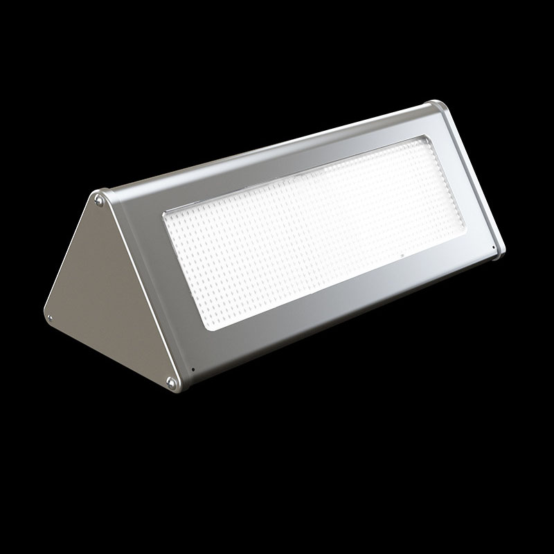 6W 1000LM Solar powered Microwaver sensing  Led wall light IP65 waterproof outdoor lighting landscape garden lights cottage lamp