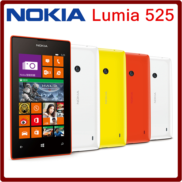 Original Lumia 525 Unlocked Nokia Lumia 525 mobile phone ...
