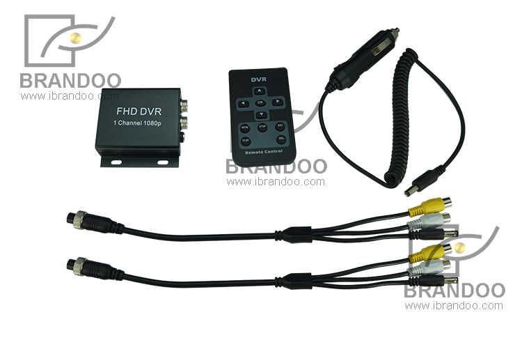 Kleinste H.264 alle 1 CH 1080 P Full HD SD Kaart Mobiele DVR