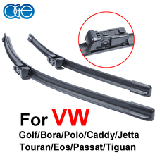 OGE дворники для цены автомобиля Для VW golf/Bora/Polo/caddy/jetta/Touran/Eos/Passat/Tiguan резиновую прокладку, Автомобильные аксессуары. кнопки