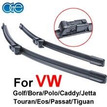 НГЕ стеклоочистителей для VW Jetta Passat Tiguan Гольф поло Touran Caddy 2005-2016 ветровое стекло резиновая авто Аксессуары
