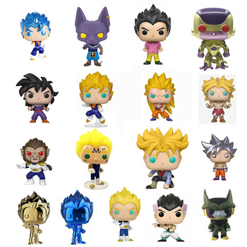 Dragon Ball Goku God Super Saiyan Broly Great Pea Majin Vegeta Gohan Golden Frieza Action Figure Collectible Model Toy цена 2017
