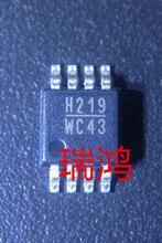 Freies Verschiffen 10 stücke HMC219MS8E MSOP8 HMC219 msop h219