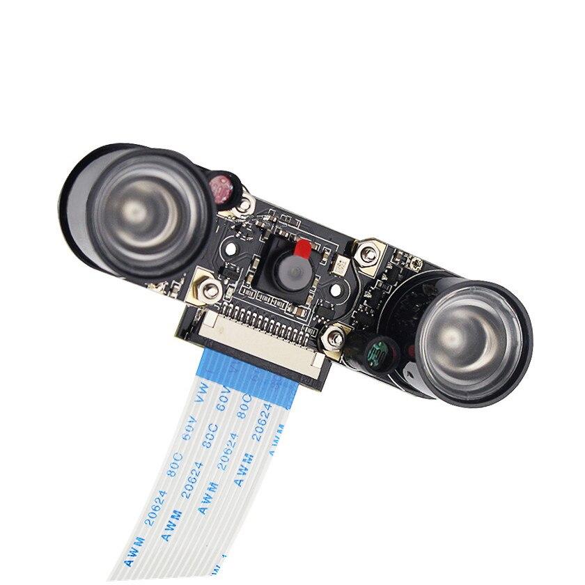 Image 5 - Raspberry Pi 3B модуль камеры 1080p 5MP камера ночного видения + 2 шт. ИК датчик светодиодный свет для Raspberry Pi 3/2 Модель B-in Аксессуары для демонстрационных стендов from Компьютер и офис