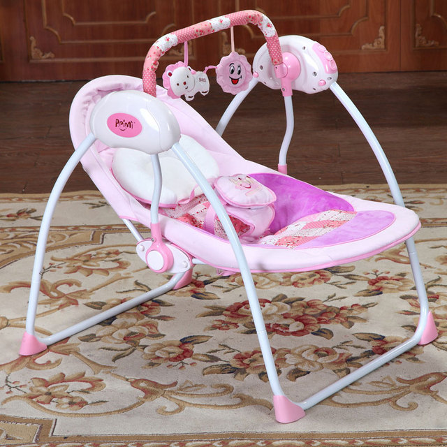 High Quality New Type Intelligent Baby Cradle Electric Baby Rocking Chair  Soft Newborn Baby Bed Comfort