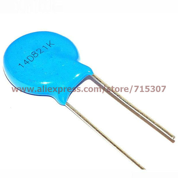 PHISCALE 50pcs Varistor 14D821K-in Generator Parts & Accessories from Home Improvement