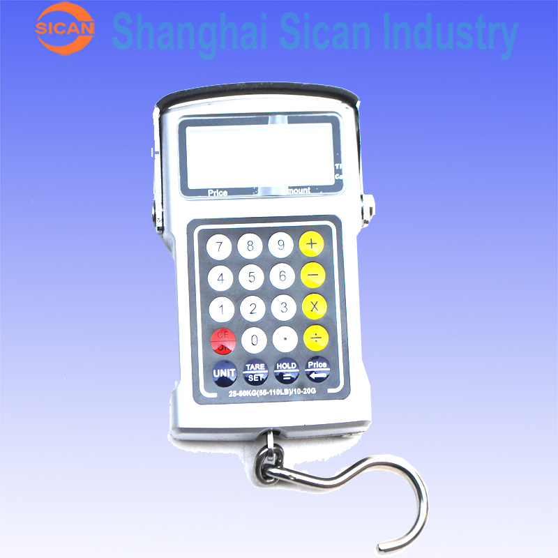 50Kg x 20g Fish Hook Hanging Digital Weighing Portable Scale With font b Calculator b font