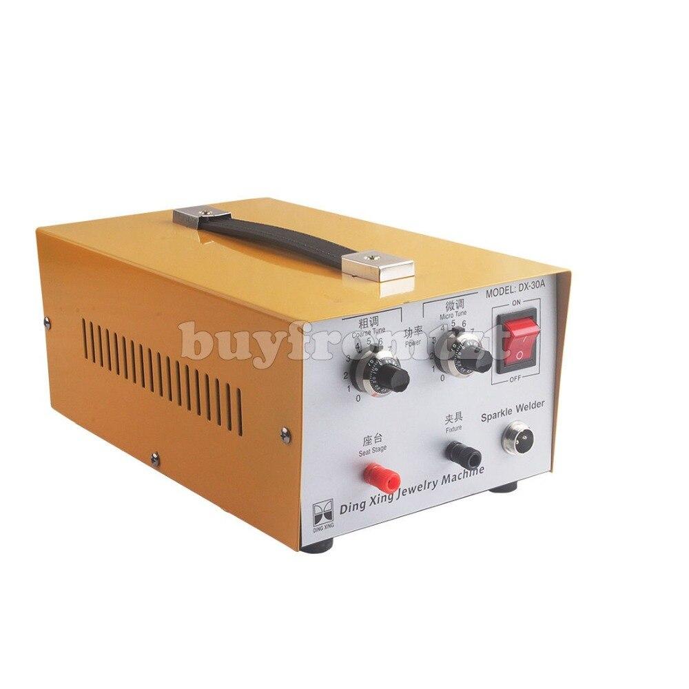 Mini Spot Welder Portable Spot Welding Machine Jewelry Tool DX-30A 110V