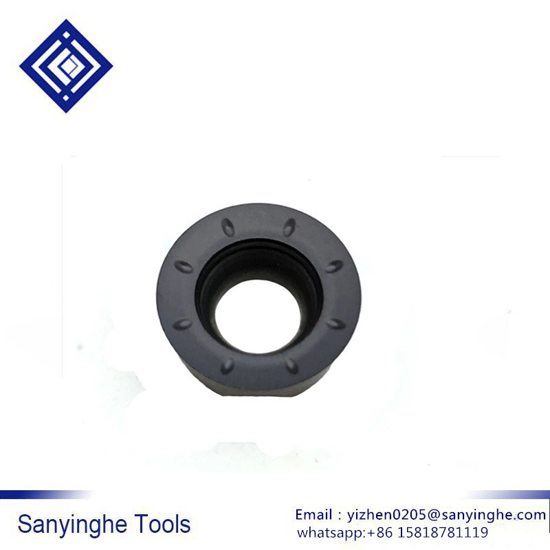free shipping high quality sanyinghe 10 pcs lots RPMT1204MOE CD IC928 cnc carbide insert cnc blade