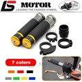 Motorcycle Handle bar / Handlebar Grips Carbon Fiber Material 7/8'' CNC 22MM For SUZUKI GSX-S1000 GSX-S 1000 1000F 2015-2016