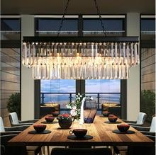 LEDream Américain, en fer forgé lustre, moderne cristal restaurant salon la chambre lumière creative lampes