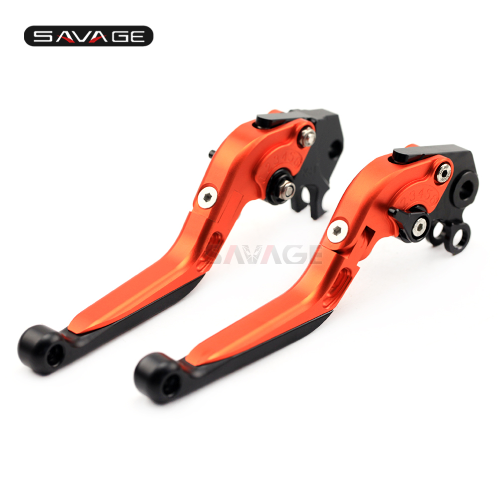 Brake Clutch Levers For KTM 690 Enduro R / 950 SUPER ENDURO R Motorcycle Folding Extendable Lever Accessories Adjustable-in Levers, Ropes & Cables from Automobiles & Motorcycles    1