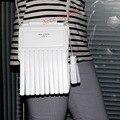 head layer cowhide tassel classic single shoulder bag Shoulder bag, white  free shipping