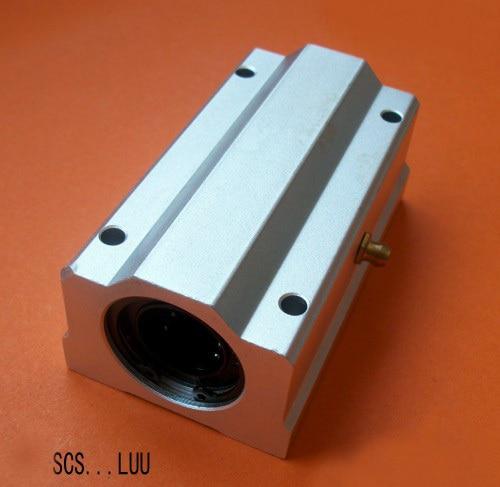 SCS40LUU 40 mm Linear Motion Ball Slide Unit CNC Parts scv35uu slide linear bearings aluminum box type cylinder axis scv35 linear motion ball silide units cnc parts high quality