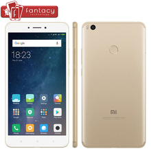 New Original Xiaomi Mi Max 2 Max 2 5300mAh 4GB 128GB Snapdragon 625 Octa Core Smartphone 6.44″ 1080P 12MP Fingerprint ID MIUI 8