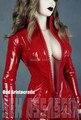 Холодный КРАСНЫЙ Тонкий Кожаный цельный Одежда для BJD Куклы SD10 SD13 Девушка SD16 IP ИД Женщина Куклы LF11-RED