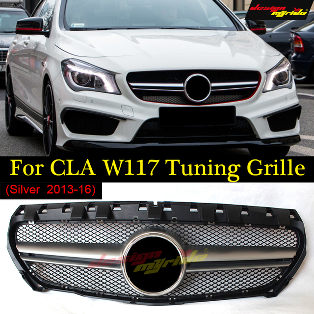 A45 Style W117 Grille For Mercedes Benz Cla W117 Replacement Front