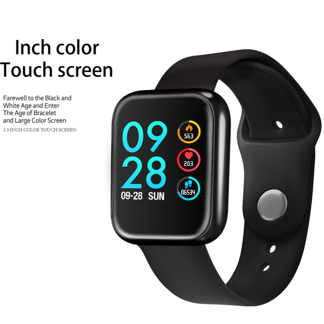 Fitness tracker bracelet P70 smart watch band blood pressure clock IP68 waterproof upgrade P68 fast ship for dropshipping 3