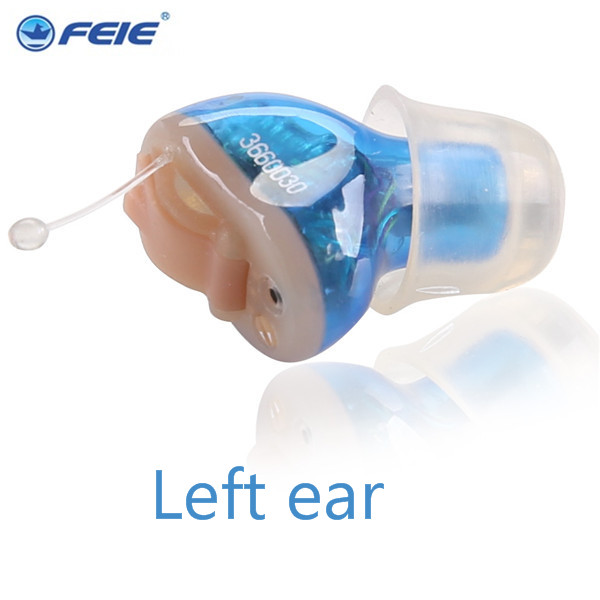 4 Channel Hearing Aid with Telecoil Hearing Instrument Specialist Programmable Hearing Aides CIC in the ear  S-13A free shipping digital amplifeir adjust super mini hearing aides invisible audifonos sordos s 15a in ear retail on aliexpress