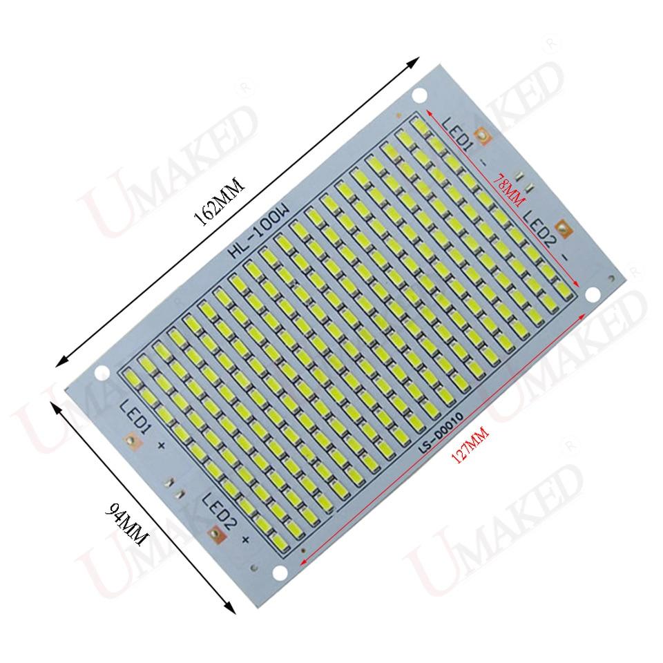 Holofotes diodo emissor de luz fonte Material : Aluminun Plate Base Board