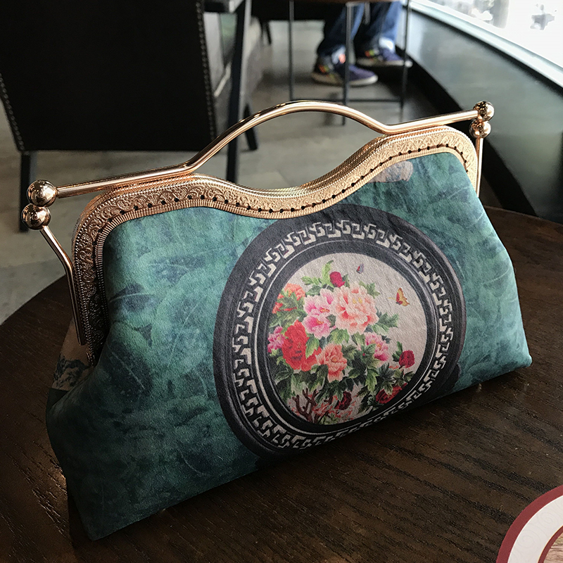 1 Pcs 27 Cm Metal Purse Frame Bag Handle Wholesale Metal Hanger Bag Accessories Sewing Coin Purse Frames Handbag Frame Handle