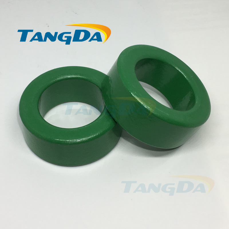 50 32 20 mm insulated green ferrite core bead 50*32*20 magnetic ring coil inductance interference anti-interference filter A. tangda ferrite cores emi bead core 58 40 18 58 40 18 mm ring coil emi toroidal core anti interference filter t core type a