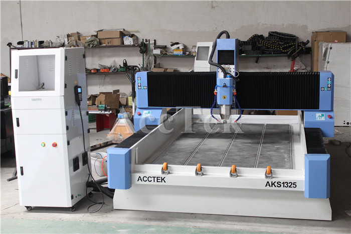 T slot table 1325 heavy model cnc router for marble / stone cutting and engraving machine in Jinan