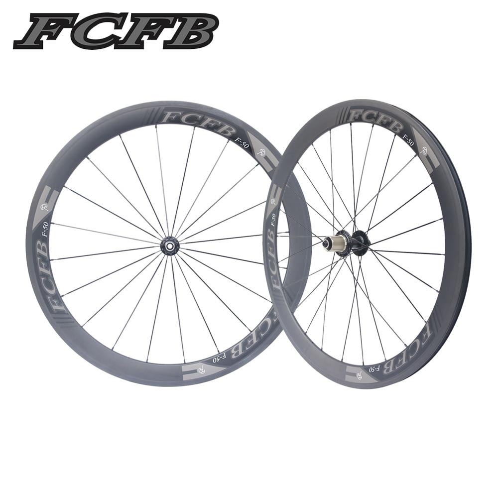 2017 new FCFB  700C 23mm 50mm  Clincher UD matt Road Bike Carbon Wheels Fastace RA209 Carbon Bicycle Wheelset ems free shipping 2016 newest road bike t800 matt ud full