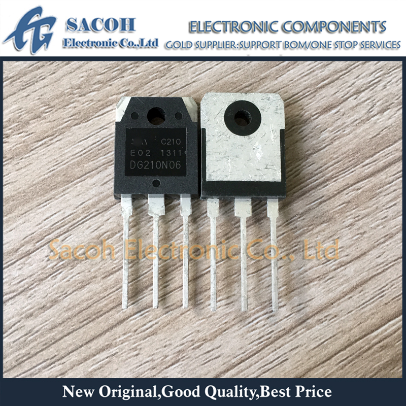 Free Shipping 10Pcs DG210N06 HA210N06 210N06 TO-3P 210A 60V Power MOSFET transistor title=