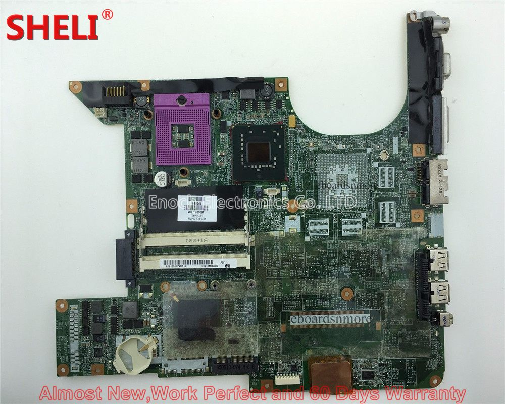 SHELI For HP Pavilion DV6000 DV6700 Series Laptop Motherboard 460902-001 DA0AT3MB8F0 965GM UMA System board Mainboard Work Good 3pcs set chinese spanish textbook modern tutorial book spanish practical book with cd for chlildren volume 1 2 3 new edition
