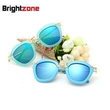 Nuevo Patrón de Tendencia de La Moda Chica Luz Polarizada gafas de Sol Coloridas Gafas de Sol gafas gafas de sol gafas de Viaje
