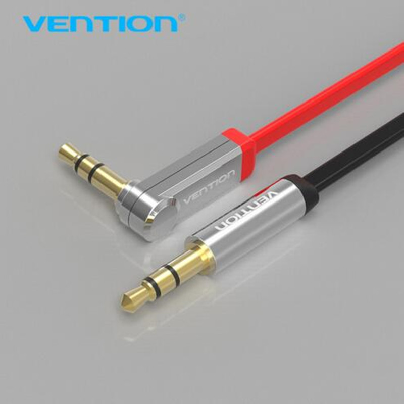 Vention font b aux b font cable jack 3 5mm male to male audio cable 90