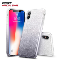 Case For Iphone X 5 8 Inch ESR Luxury Glitter Sparkle Bling Design Case Shining Fashion