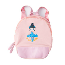 girls ballet bag pink ballerina dance printing dancer backpack for child accessories dancing