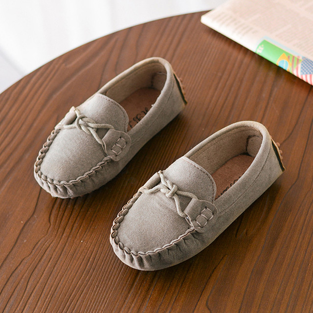 Children Boys Girls Loafers Kids Shoes Solid Color Soft Bottom Breathable Casual Shoes cowboy style cool Shoes Kids Zapatillas 2